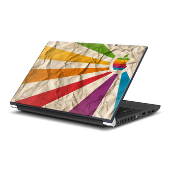 Colorful Apple Laptop Skin