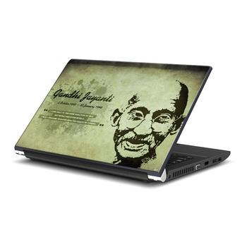 Mahatama Gandhi  Laptop Skin