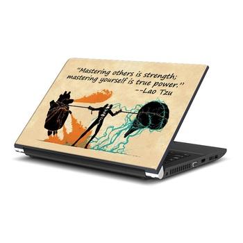Lao Tzu Quote Laptop Skin