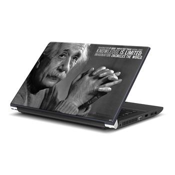 Albert Einstein Quote Laptop Skin