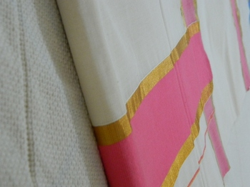 Kerala Cotton Kasavu Saree