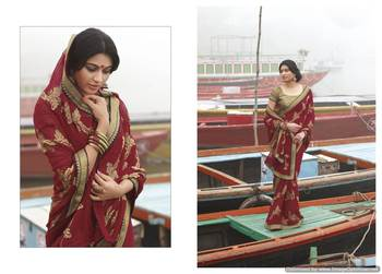 Embroidered Saree SC2466