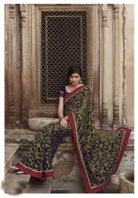 Embroidered Saree SC2478