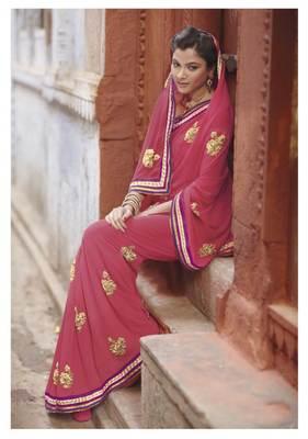 Embroidered Saree SC2485