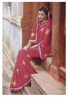 Embroidered Saree SC2485