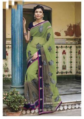 Embroidered Saree SC2487