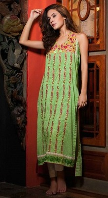 Fashionable Designer Firdous Lawn Kurti