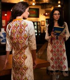 Buy Awesome Party Wear Designer Firdous Lawn Kurti dress online