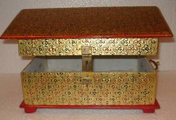 Golden Work Jewellery box