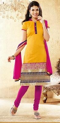 Designer Chanderi Floor Touch Anarkali