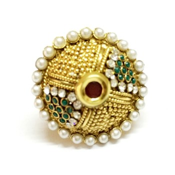 Craftstages Polki work Stylish Ring