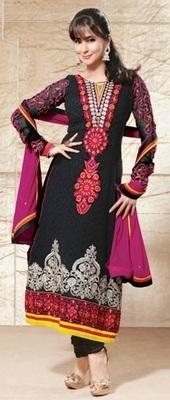 Urmila Matondker Designer Straight Suit