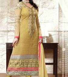 Buy Urmila Matondker Awesome Straight Suit dress-material online
