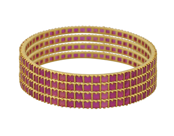 Beautiful Designer Bangle Gold Plated