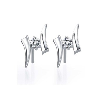 Signity Sterling Silver Aarushi Earring