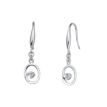 Signity Sterling Silver Pallavi Earring