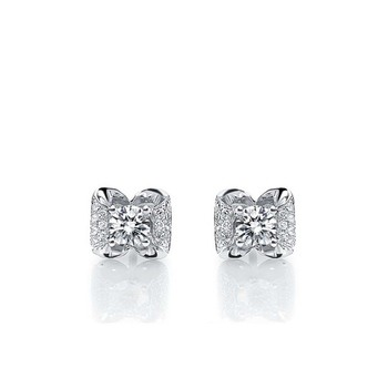 Signity Sterling Silver Vishaka Earring