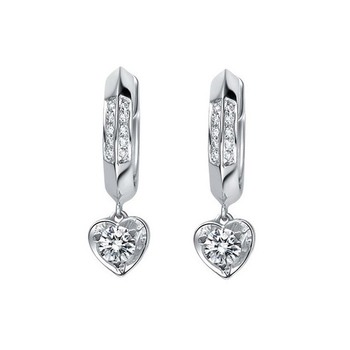 Signity Sterling Silver Anvita Earring