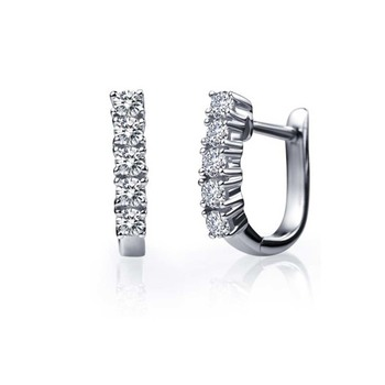Signity Sterling Silver Varsha Earring