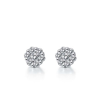 Signity Sterling Silver Kavya Earring