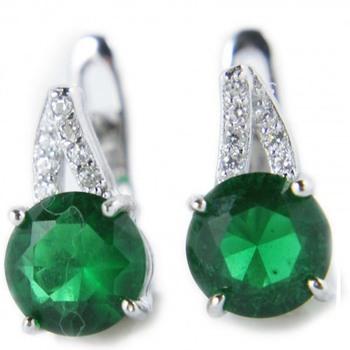 Signity Sterling Silver Kajal Earring