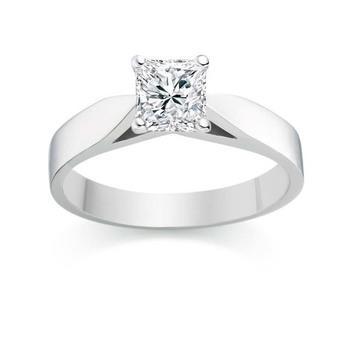 Signity Sterling Silver Kajol Ring