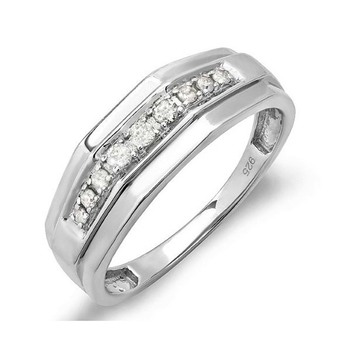 Signity Sterling Silver Aarti Ring