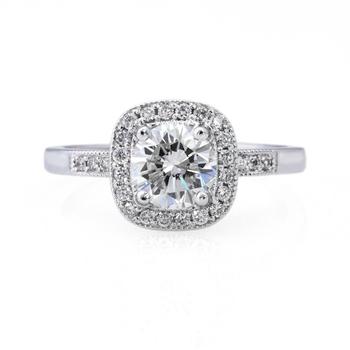 Signity Sterling Silver Varsha Ring