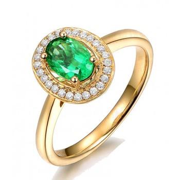 Signity Sterling Silver Sonam Ring