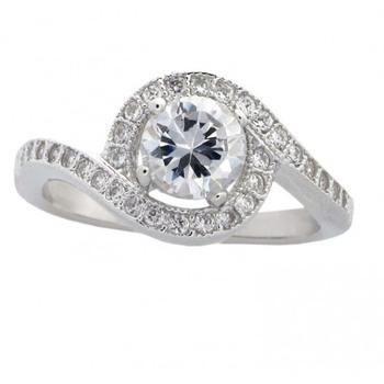 Signity Sterling Silver Saniya Ring
