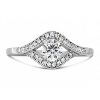 Signity Sterling Silver Tejashree Ring