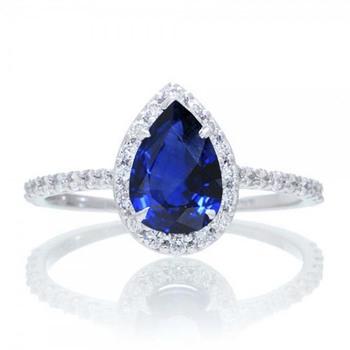 Signity Sterling Silver Pranu Ring