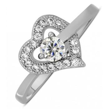 Signity Sterling Silver Kirti Ring