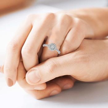 Signity Sterling Silver Diksha Ring