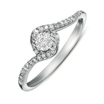 Signity Sterling Silver Gujarat Ring