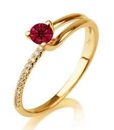 Signity Sterling Silver Pranita Ring