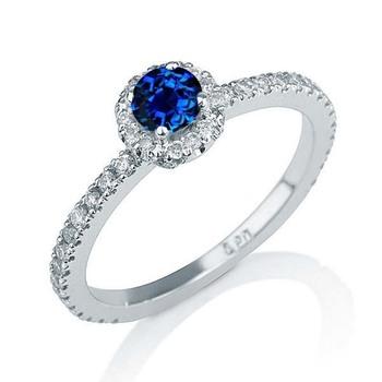 Signity Sterling Silver Mrunalini Ring