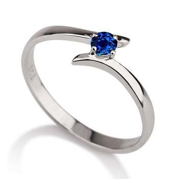Signity Sterling Silver Sanjana Ring