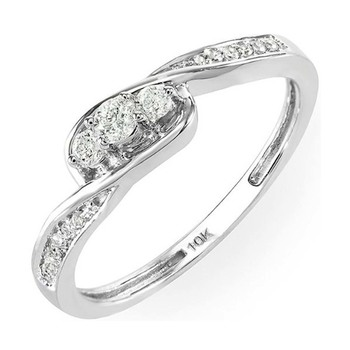 Signity Sterling Silver Tejashree Ring