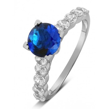 Signity Sterling Silver Parthavi Ring