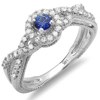 Signity Sterling Silver Swara Ring