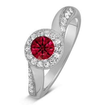 Signity Sterling Silver Darshana Ring