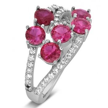 Signity Sterling Silver Ranchi Ring