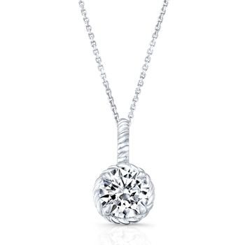 Signity Sterling Silver Kirti Pendant