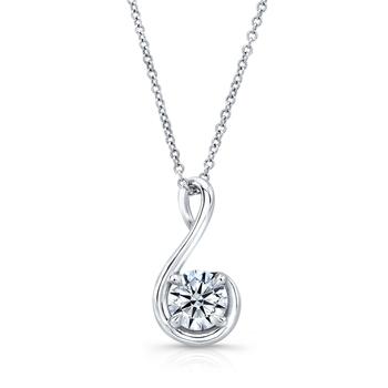 Signity Sterling Silver Kanika Pendant