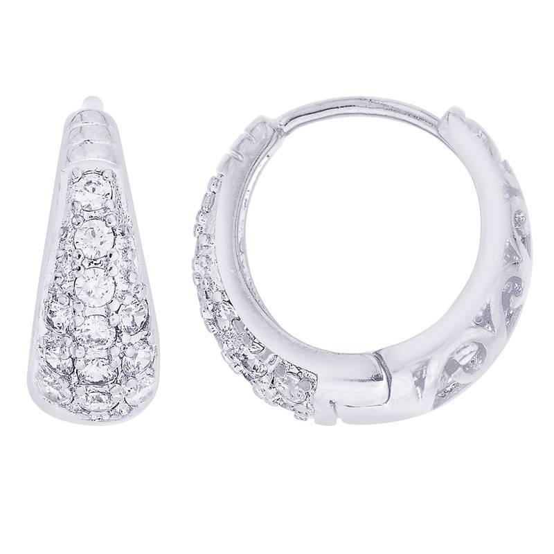 Earrings Men Boys Studs Silver Small Micro Ad Piercing Fashion Bali