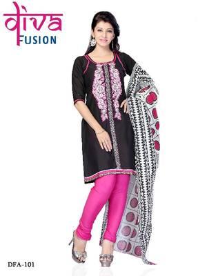 Party wear cotton designer salwar suit