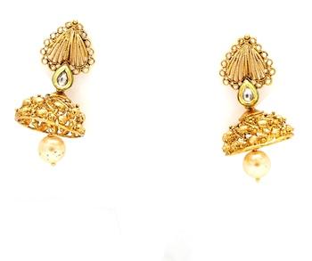 Designerpremium quality antique gemstone earrings