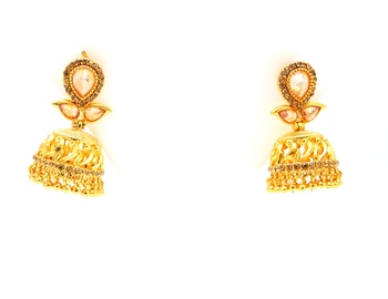 Designerpremium quality antique gemstone earrings