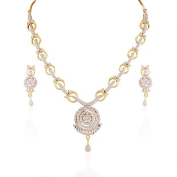 Heena Trendy Collection Necklace Set  >> HJNL74 <<